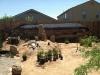 desert arches blockwall mural