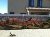 grand canyon blockwall mural