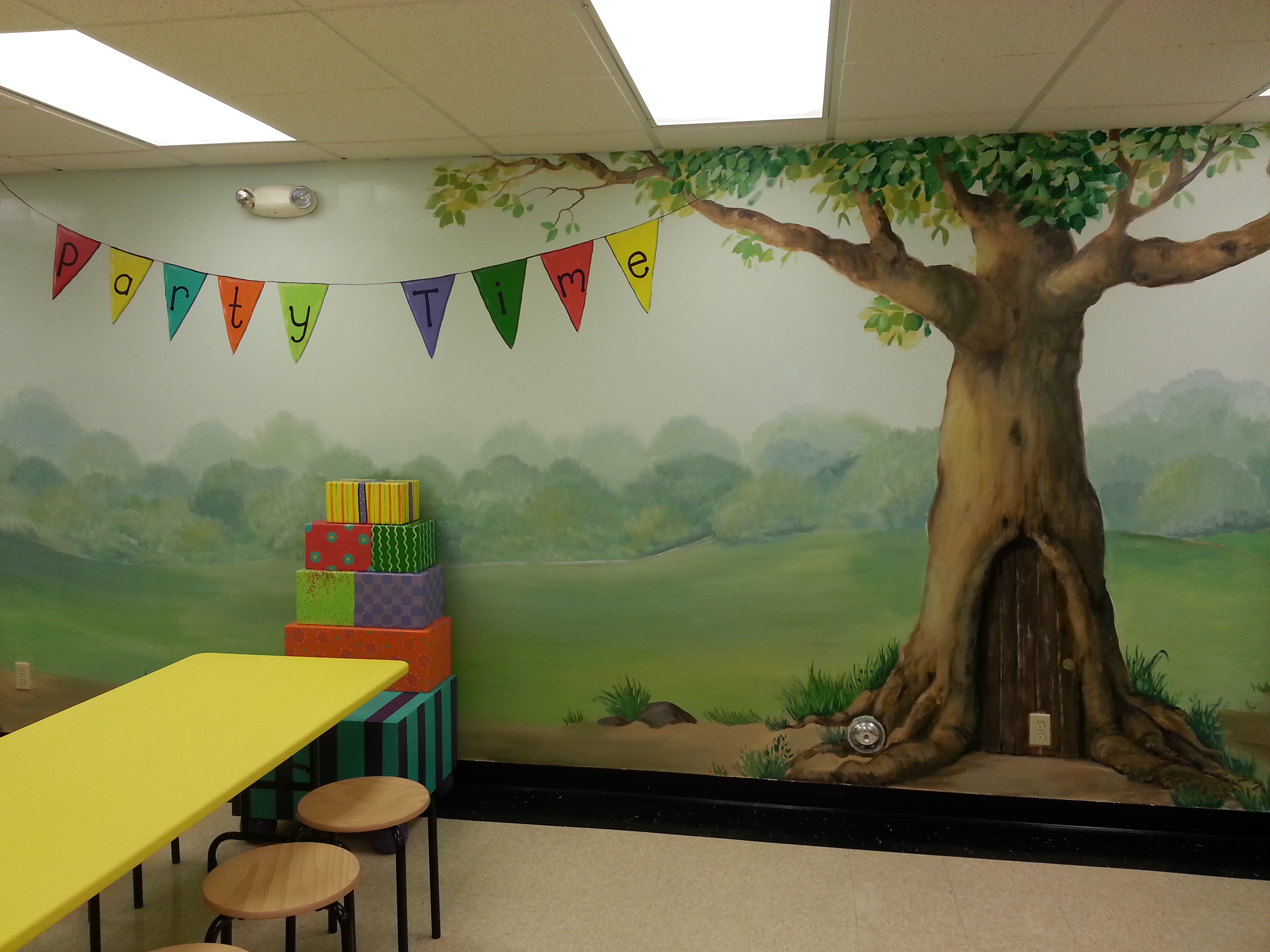 Another Mural For The Childrens Museum In Everett Wa I